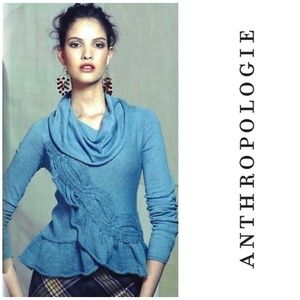 Anthropologie Moth Switching Sides Sweater